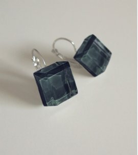Dark soul earrings