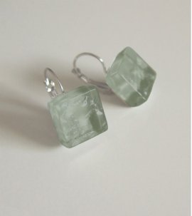 Simply green earrings