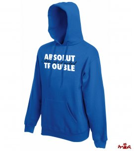 Absolut trouble - hoodie for him