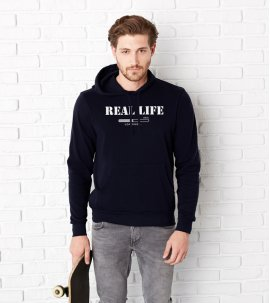 Real life - hoodie for him