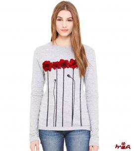Poppies - dlhorukávové